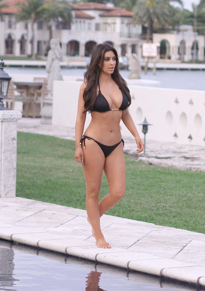 Зимние каникулы Ким Кардашьян в Майами